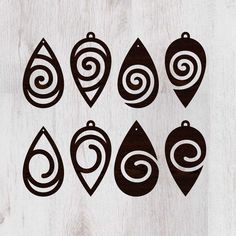 Earrings drop svg file Jewelry svg Earrings svg Pendant svg 8 Templates Vector f… Earrings drop svg file Jewelry svg Earrings svg Pendant svg 8 Templates Vector file Jewelry Cut Files Acrylic Templates Leather Earrings svg Diy Leather Earrings, Wood Earrings, Leather Jewelry, Wire Jewelry, Jewelry Crafts, Handmade Jewelry, 3d Cnc, 3d Prints, Leather