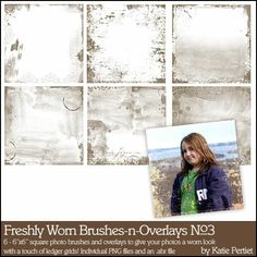 Freshly Worn Brushes and Overlays No. 03