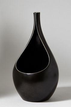 Vase Pungo designed by Stig Lindberg for Gustavsberg, Sweden. 1950's.