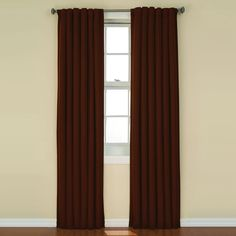 Get a good night's sleep with the Eclipse Thermaback Kendall Blackout Window Panel . Eclipse ultra-fashionable blackout panels have been laboratory-tested. Blackout Panels, Blackout Windows, Kids Curtains, Drapes Curtains, Purple Curtains, Drapery, Thermal Curtains, Window Panels, Quartos