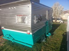 How To Paint A Vintage Trailer | Interiors by Kenz
