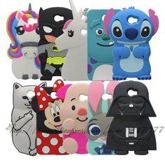 Cute Cartoon Cover Case For Huawei Y5II / Y5 II 2 Back Cover For Huawei Y5 ii 3D Stitch Batman unicorn Sulley Cat Silicone case