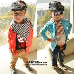 This is one stylish kid