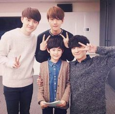 DO, Baekhyun, Chanyeol - EXO Next Door