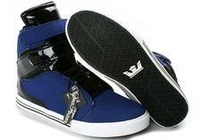 Supra TK Society Blue Black Shoes