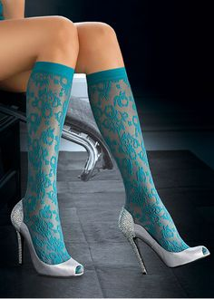 Oroblu Catherine Knee Highs  http://www.uktights.com/product/3080/oroblu-catherine-knee-highs