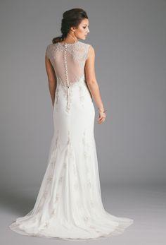 Robyn Roberts Studio: Platinum applique dress