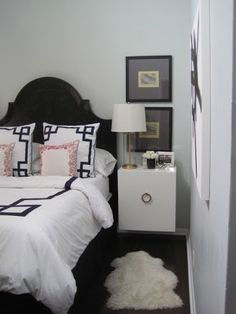 Confetti and Stripes: before & after: master bedroom- Ikea Hack