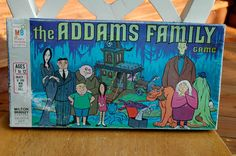 Vintage Board Games | Vintage The Addams Family Board Game by Lisamyers on Etsy