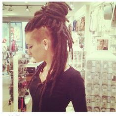 Dreads and side cut!