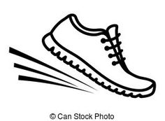 bing free clip art running shoes running running shoe vector clip rh pinterest com clip art shoes free clip art shoes free