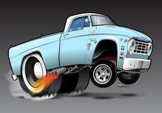 1966 Dodge illustrated Mo`Power