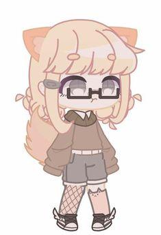Arte Do Kawaii, Anime Kawaii, Cute Anime Character, Character Outfits, Drawing Anime Hands, Casa Anime, Club Hairstyles, Club Face, Club Design