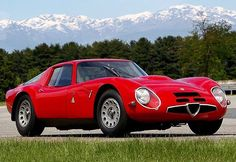 #Alfa Romeo Giulia TZ 2 #alfaromeogiuliatz2carrozatada#zagato  From 1965
