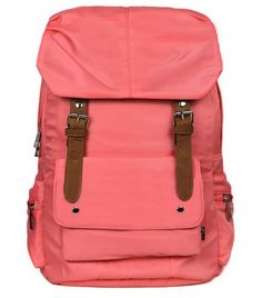 Excellent Womens Colorful Classic Cotton Canvas Backpack Book Bag School Bag