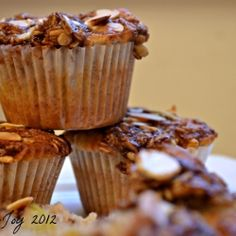 Apple crumble cinnamon muffins by Baking-Joy