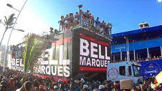 BELL MARQUES NA  BARRA  06 02 2016 CARNAVAL DE SALVADOR
