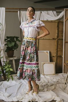 Coleslaw Dressing, Dressing Recipe, Boho Inspiration, Tulle Dress, Midi Skirt, Floral Prints, Couture, Spring, Collection