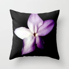 jasmine perfect aroma Throw Pillow by alkinoos
