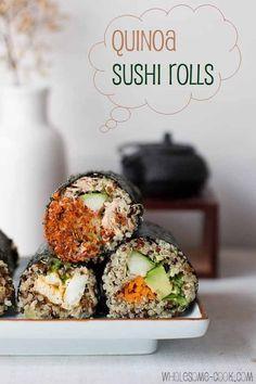 Quinoa Sushi Rolls!!!
