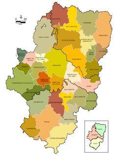 Pueblos mapa Comarcas-de-Aragon Provinces De France, Spain History, France Map, Bowser, Infographic, Fictional Characters, Ethnic, Maps, Viajes