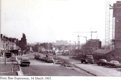 construction of the Perry Barr Expressway 1967