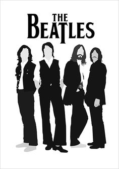 The Beatles ❤ Poster Dos Beatles, Les Beatles, Beatles Art, Beatles Photos, Poster S, Pop Rock, Rock And Roll, Geeks, Digital Foto