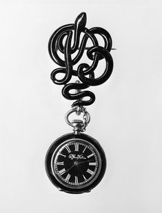 Mourning watch and pin, Tiffany & Co.