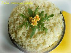 Torta mimosa salata,ricetta lievitata
