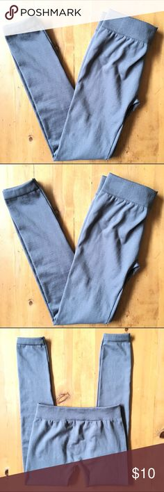 Hype Leggings Excellent condition fleece inside size large/xtra large 13 in elastic waist 36 in long 27 in inseam very cute Hype Pants Leggings