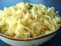This is a twist on classic hot buttered noodles.  These are perfect for any occassion and are super simple to make!