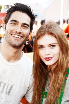 tyler hoechlin and holland roden - teen wolf