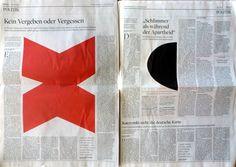 Die Welt newspaper, Ellsworth Kelly imagery, Cornelius Tittel Culture Editor