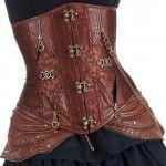 Brown corset Looks amazing