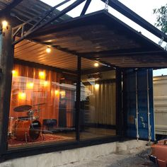 #shippingcontainer #shippingcontainerhome #shippingcontainerhouse #shippingcontaineroffice #container #containerhome #containerdecor #containerdesign #commingsoon #musicshop  Shipping Container Office, Shipping Container Design, Instagram Posts, Home, Ad Home, Homes, Haus, Houses