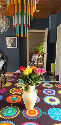 Värejä!! Marimekko, Painting, Home, Art, Art Background, Painting Art, Ad Home, Kunst, Paintings