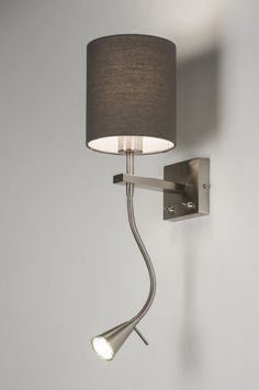 Élégante lampe mur Interrupteur éclairage escalier maison couloir verre lampe ip20