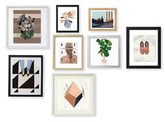 Creating a beautiful gallery wall is easier than you think. Decide on your space, choose different frames to create dimension, and mix in beautiful prints with your favourite family photographs. Plan it, test it, hang it - it's as easy as that!