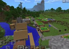 You will spawn on a grass lawn, which is situated ahead of a small forest. Turn left, and it is easy to recognize a farm. This is the first sign of a village.  How does Gorgeous Hills & A Little Village Seed work? Although the village comes with the small size, it includes a blacksmith.... https://mcpebox.com/gorgeous-hills-little-village-seed-minecraft-pe/