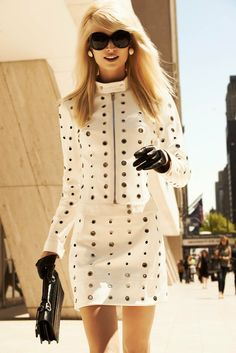 FOTO: Melissa Tammerijn estilo Brigitte Bardot Harper Bazaar América Latina