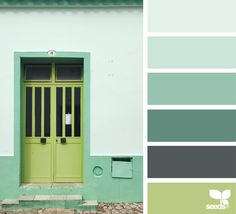 A Door Hues (design seeds) Colour Pallette, Colour Schemes, Color Patterns, Color Combinations, Paleta Pantone, Color Balance, Design Seeds, World Of Color, Color Swatches