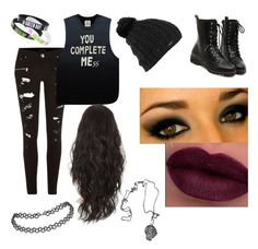 Concert Attire by sheameow on Polyvore featuring polyvore, fashion, style, River Island, UNIF, Burton, 5sos, 5secondsofsummer, rowyso and SLFL