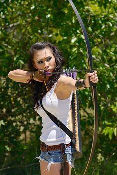 Linlee Chan @ #Instinctive #Archery #MAGAZINE http://www.instinctive-archery.com/magazine-preview