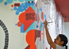 Wall Painting for Freshdesk (2) on Behance