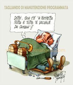 Berlusconi: restauro in corso...