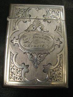 Antique Card Case