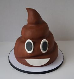 Emoji cake cake for shitheads Ballon Emoji, Beautiful Cakes, Amazing Cakes, Fondant Cakes, Cupcake Cakes, Emoji Cake, Character Cakes, Cute Cakes, Creative Cakes