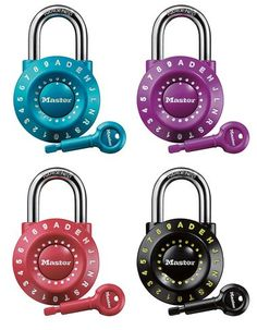 Master Lock Resettable Dial Combination