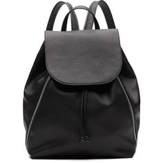 Witchery Yana Backpack (310 BRL) ❤ liked on Polyvore featuring bags, backpacks, backpack, day pack backpack, foldover bags, grey bag, tassel bag and stitch bag