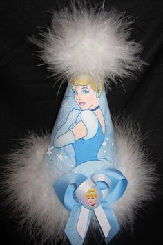 Cinderella Birthday Party Hat Supplies Favors by Asil328 on Etsy, $17.99